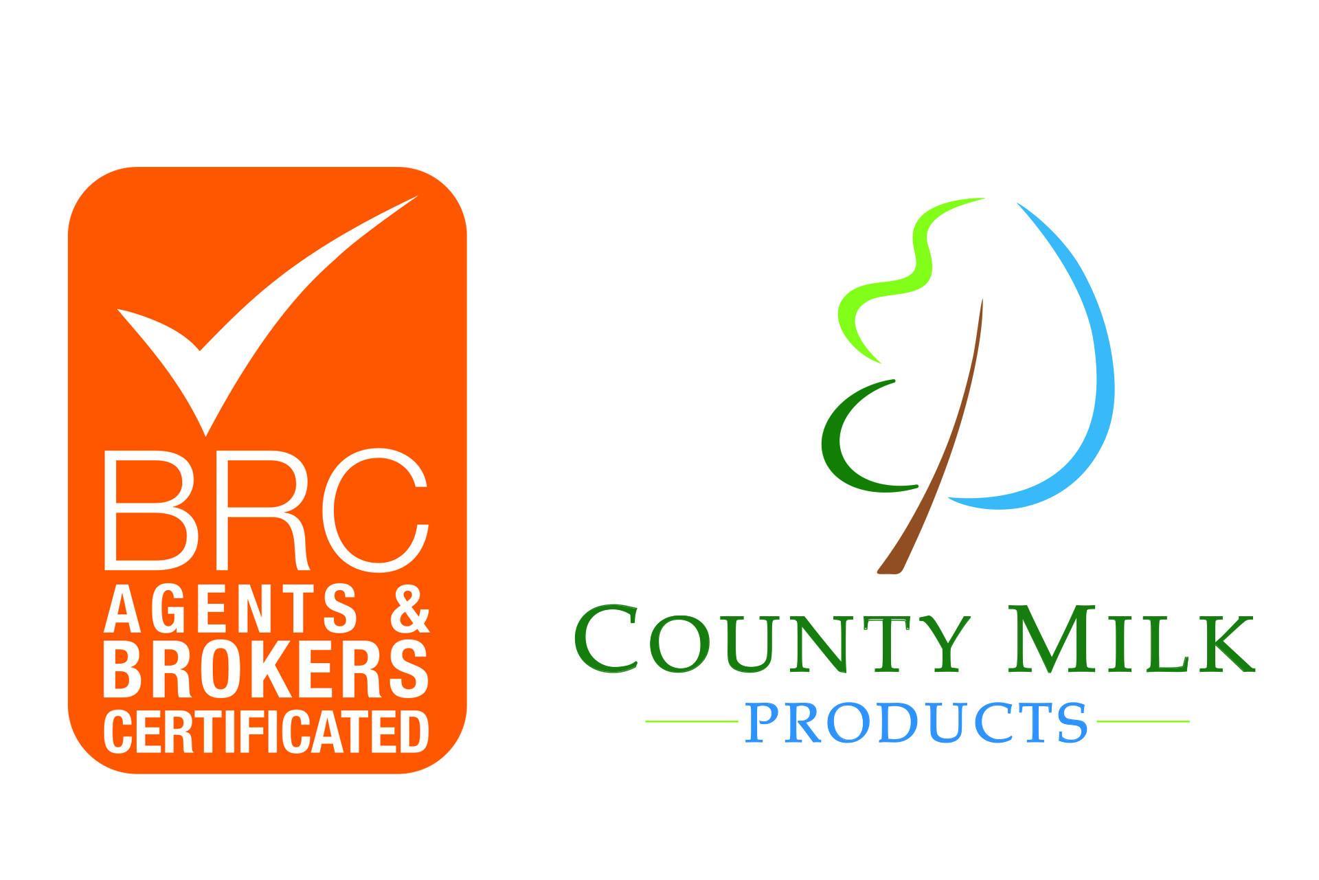 brc certification milk cmp county logos