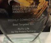 NuVu Life wins Runner Up Award!!